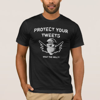 T-shirt PROTÉGEZ VOS BIPS, diable ? ?