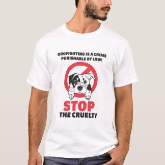 T-shirt Protestation de combat de chien