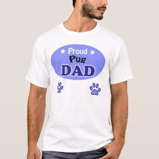 T-shirt Proud Pug Dad