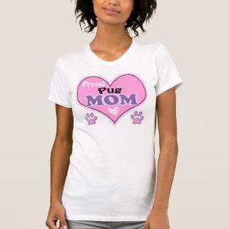 T-shirt Proud Pug Mom