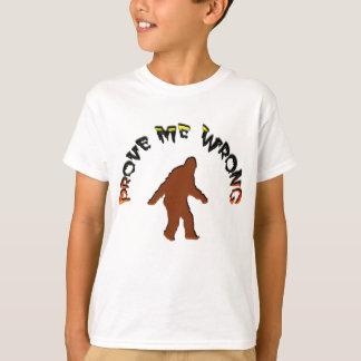 T-shirt Prouvez-moi mal