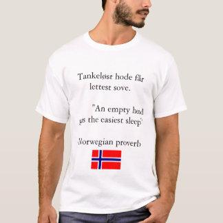 T-shirt Proverbe norvégien