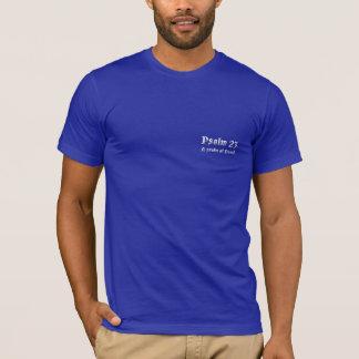 T-shirt Psaume 23 - Pièce en t chrétienne