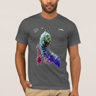 T-shirt psycadelic de tabagisme de Caterpillar -