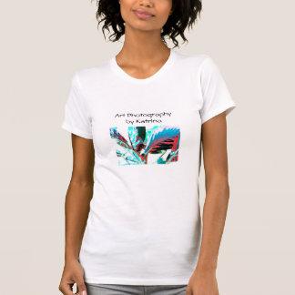 T-shirt psychédélique de plante