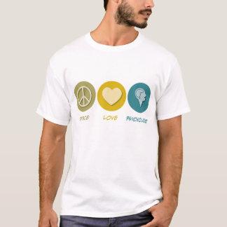 T-shirt Psychologie d'amour de paix