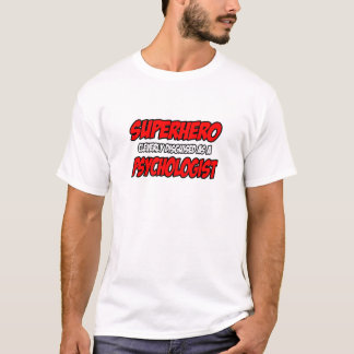T-shirt Psychologue de super héros…