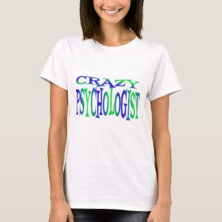 T-shirt Psychologue fou