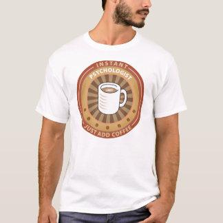 T-shirt Psychologue instantané