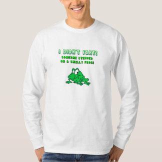 T-shirt puant de grenouille