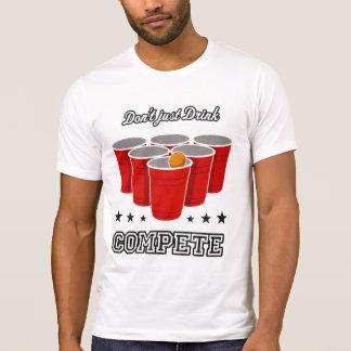 T-shirt Puanteur de bière : Ne buvez pas simplement -