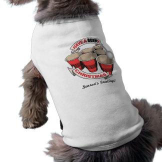 T-shirt Puanteur (personnalisable) d'odeur de bière de biè