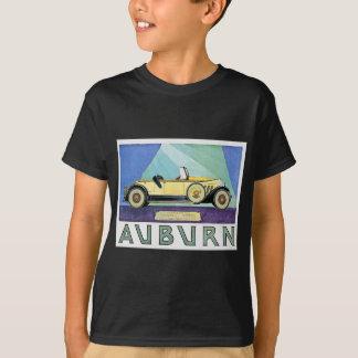T-shirt Publicité automatique vintage auburn
