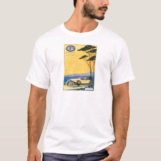 T-shirt Publicité vintage d'automobile de ~ de Delage