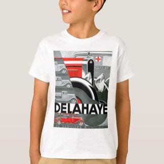 T-shirt Publicité vintage d'automobile de ~ de Delahaye