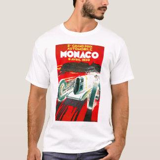 T-shirt Publicité vintage de voyage de Monoco Grand prix