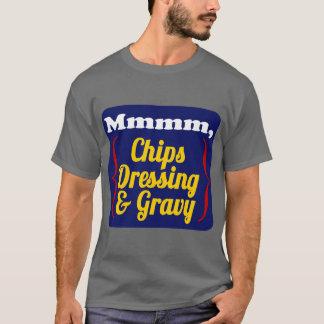 T-shirt Puces, habillage et sauce au jus