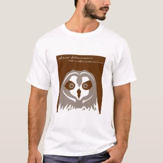 T-shirt Pueo, ou hibou à oreilles courtes hawaïen