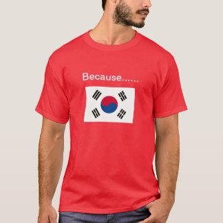 T-shirt Puisque la Corée