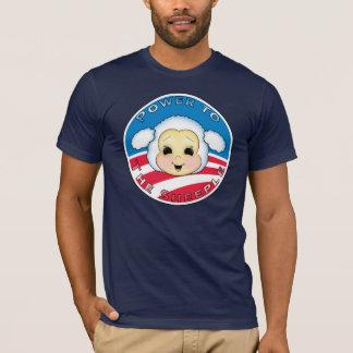 T-shirt Puissance au Sheeple (Obama)