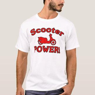 T-shirt PUISSANCE de scooter !