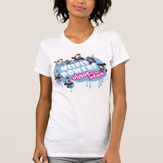 T-shirt Puissance de vêtement manqué ! Olibot et le