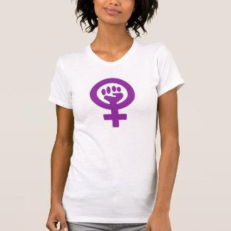 T-shirt Puissance féministe/puissance de femme