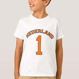 T-shirt Puissance néerlandaise de Néerlandais de base-ball