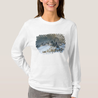 T-shirt Puits chez Gentilly dans la neige, 1879