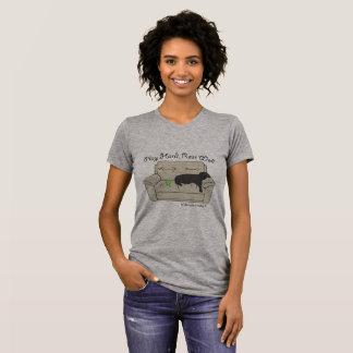 T-shirt puits dur de repos de jeu