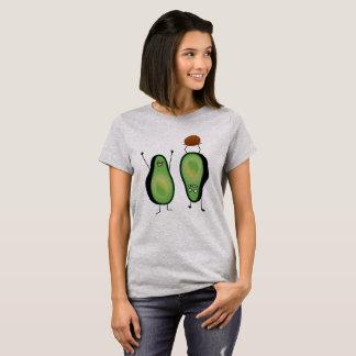 T-shirt Puits vert encourageant drôle d'appui renversé