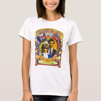 T-shirt Punk rock vintage Charles l'épousant royal et Di