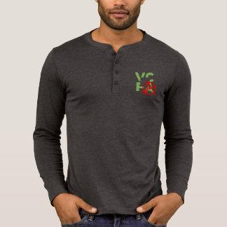 T-shirt PUNKS DE VCFA ! Henley foncé