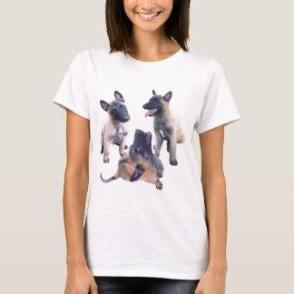 T-shirt puppies malinois