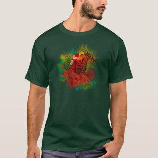 T-shirt Pur sang coloré dans la typographie