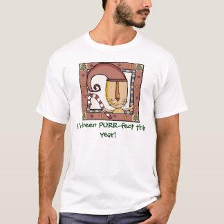 T-shirt Purrfect, j'ai été Ronronnement-fect cette année !