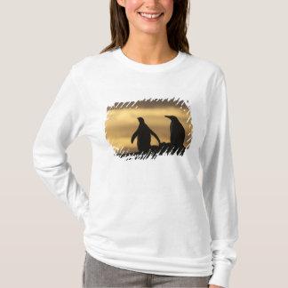 T-shirt Pygoscelis Papouasie de pingouins de Gentoo) au