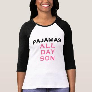 T-shirt Pyjamas toute la journée, fils