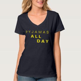 T-shirt Pyjamas toute la journée - jours et dimanche