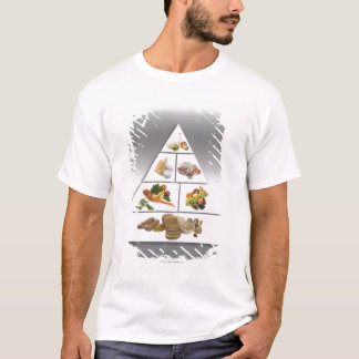 T-shirt Pyramide alimentaire