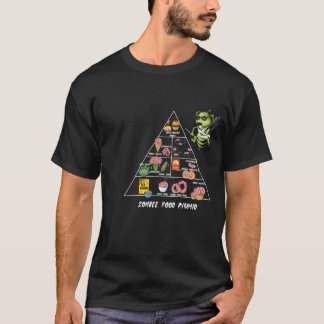 T-shirt Pyramide alimentaire de Zombee
