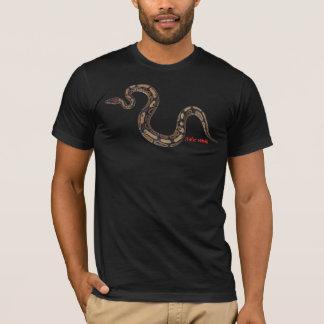 T-shirt Python royal