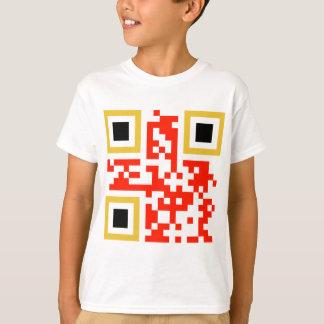 T-shirt QR-Code-Belgie