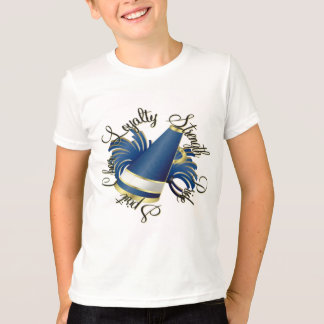 T-shirt Qualités de bleu et d'or d'acclamation