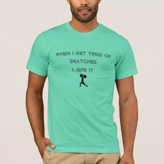 T-shirt Quand je me fatigue de saisir…