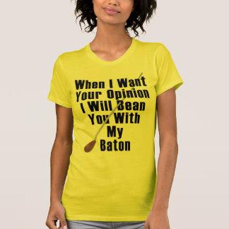T-shirt Quand je veux votre avis…