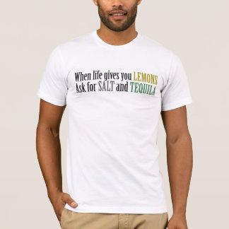 T-shirt Quand la vie vous donne les citrons demandent le