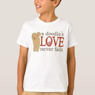 T-shirt Quand votre meilleur ami est un Goldendoodle