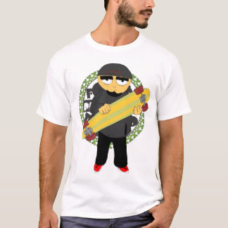T-shirt Quarante crapaud Pres Longboard