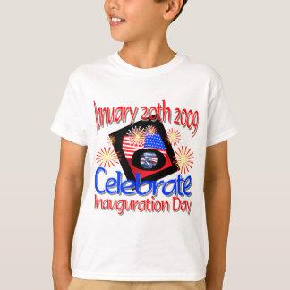 T-shirt quarante-quatrième Le Président le 20 janvier 2009